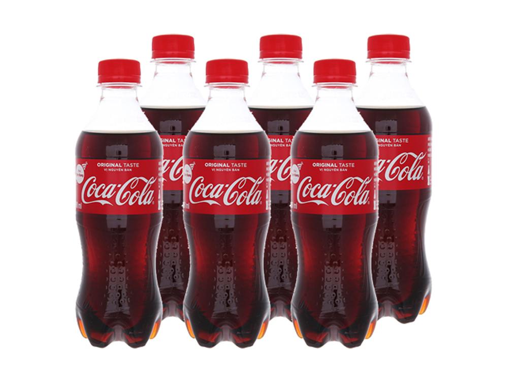 24 chai nước ngọt Coca Cola 390ml 1