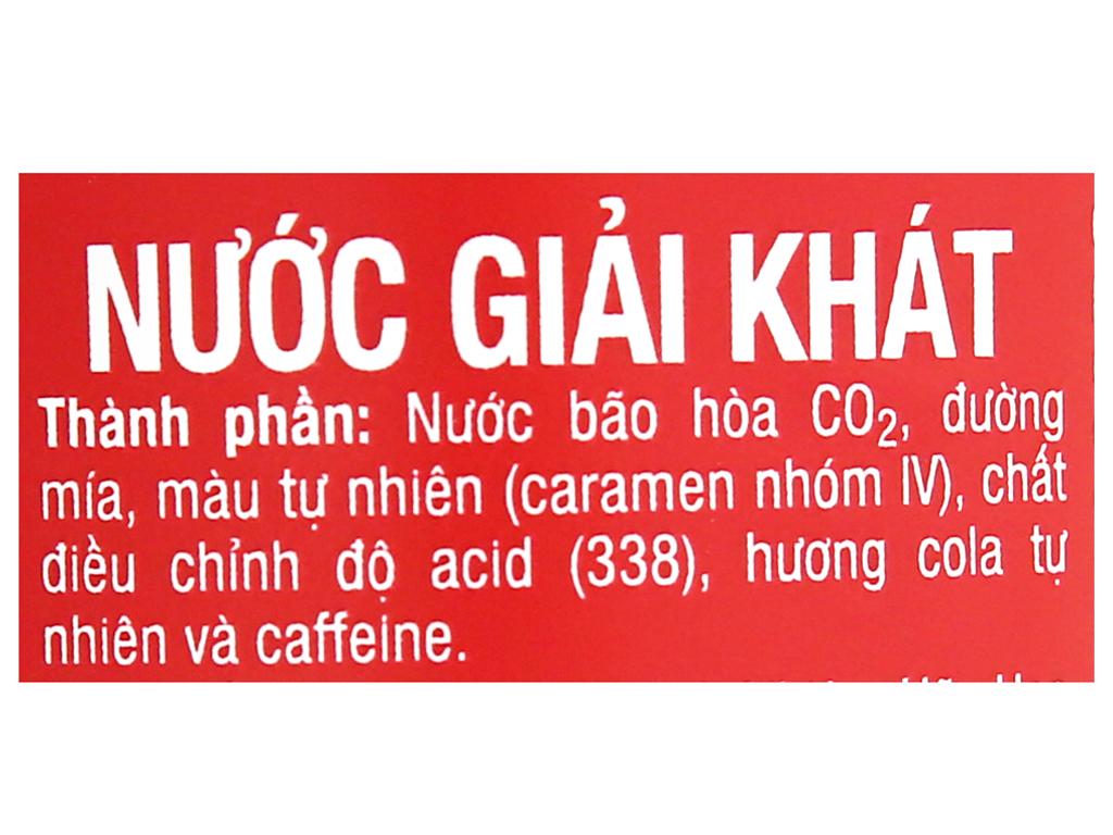 Thùng 24 chai nước ngọt Coca Cola 390ml 19