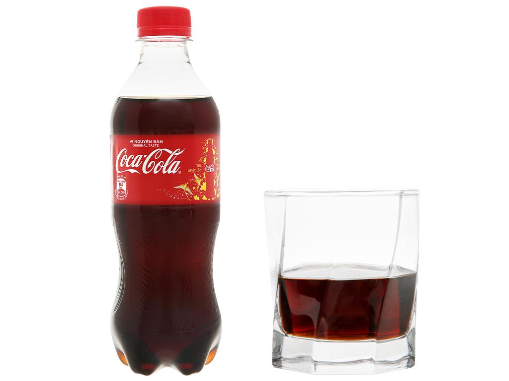 Thùng 24 chai nước ngọt Coca Cola 390ml 20