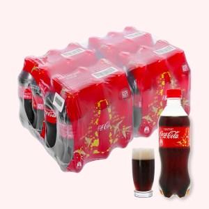 Thùng 24 chai nước ngọt Coca Cola 390ml