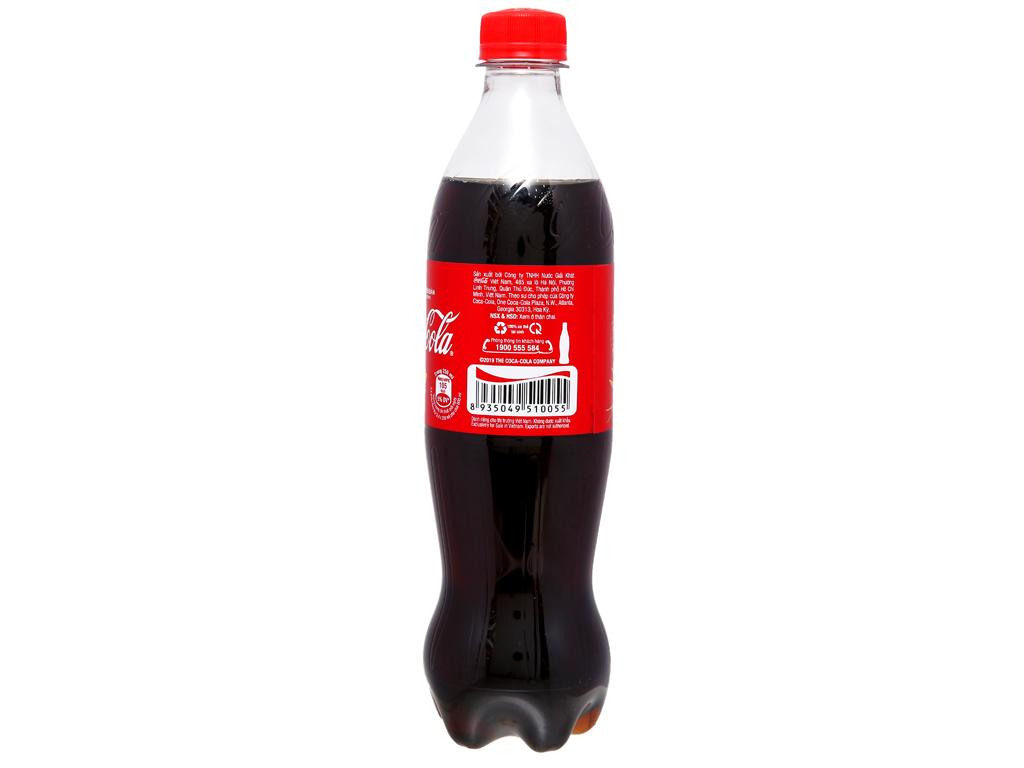 6 chai nước ngọt Coca Cola 600ml 9