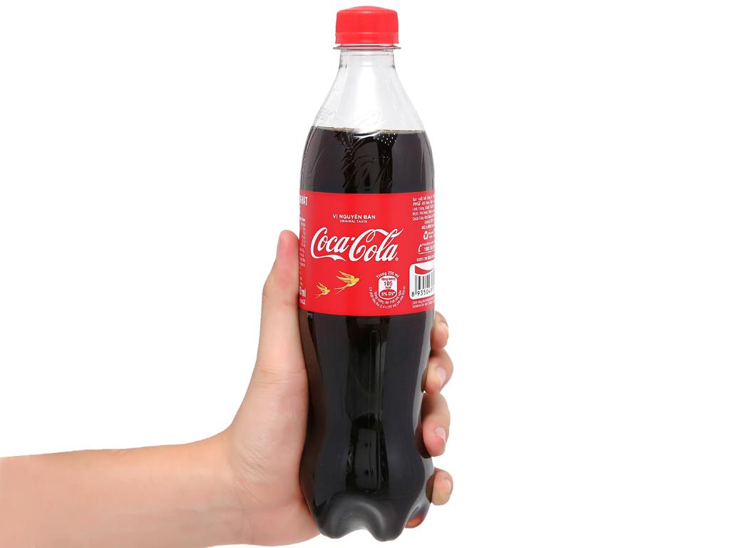 6 chai nước ngọt Coca Cola 600ml 11