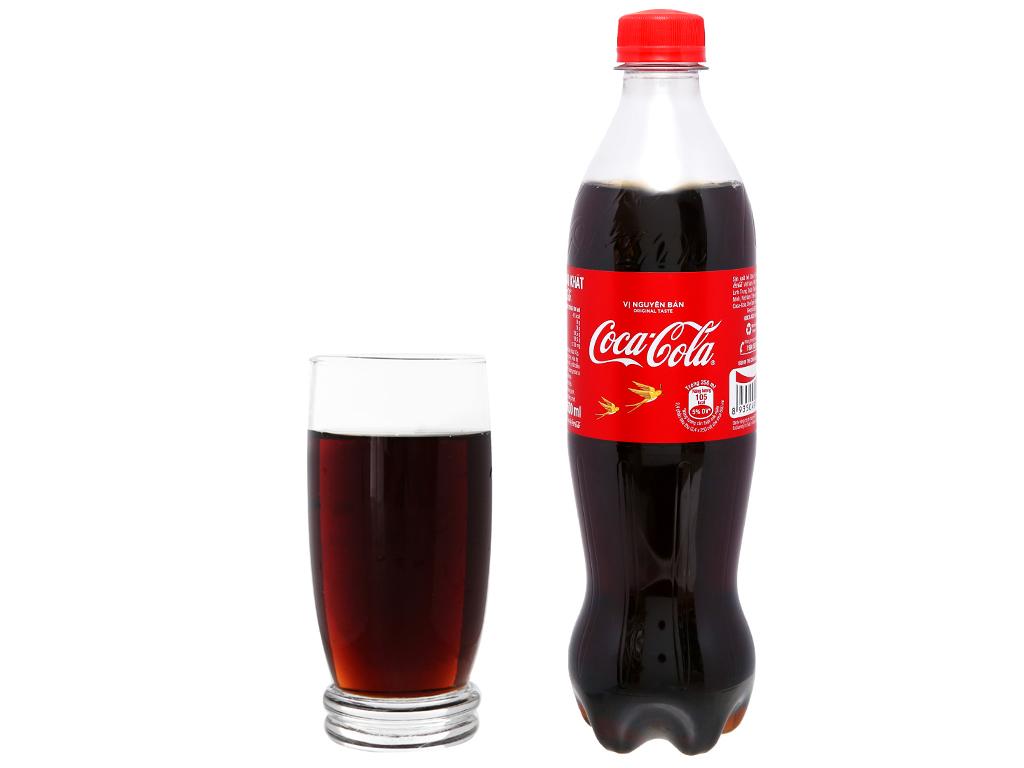 6 chai nước ngọt Coca Cola 600ml 12