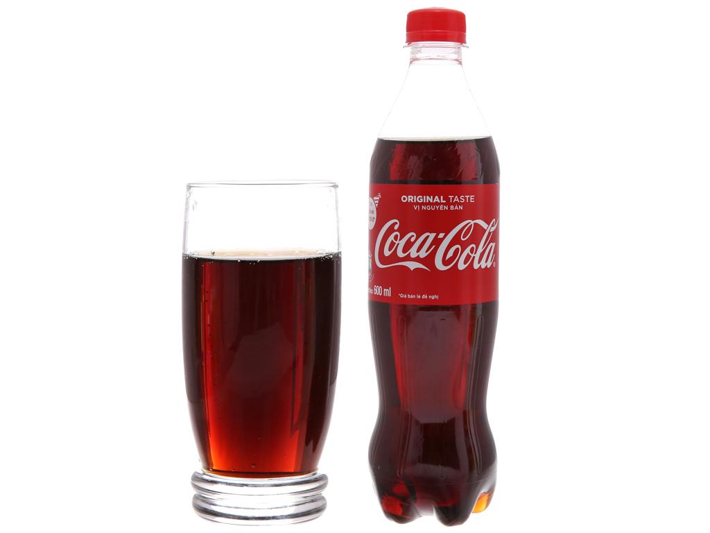 6 chai nước ngọt Coca Cola 600ml 3