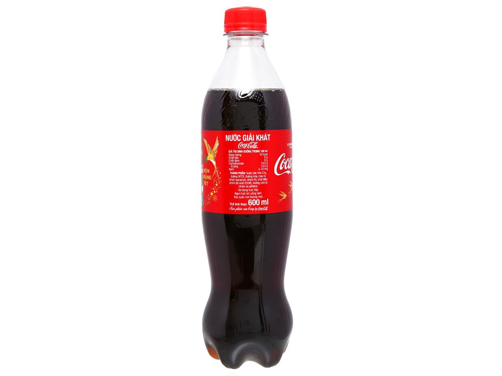 24 chai nước ngọt Coca Cola 600ml 8