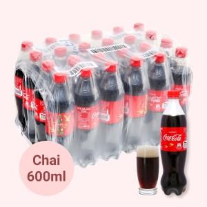 24 chai nước ngọt Coca Cola 600ml