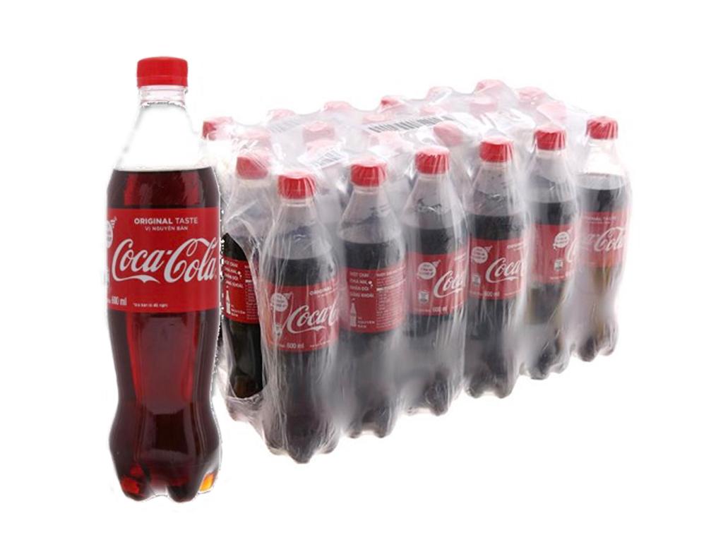 24 chai nước ngọt Coca Cola 600ml 1