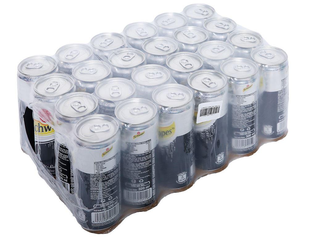 24 lon soda Schweppes 330ml 1