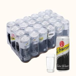 24 lon soda Schweppes 330ml
