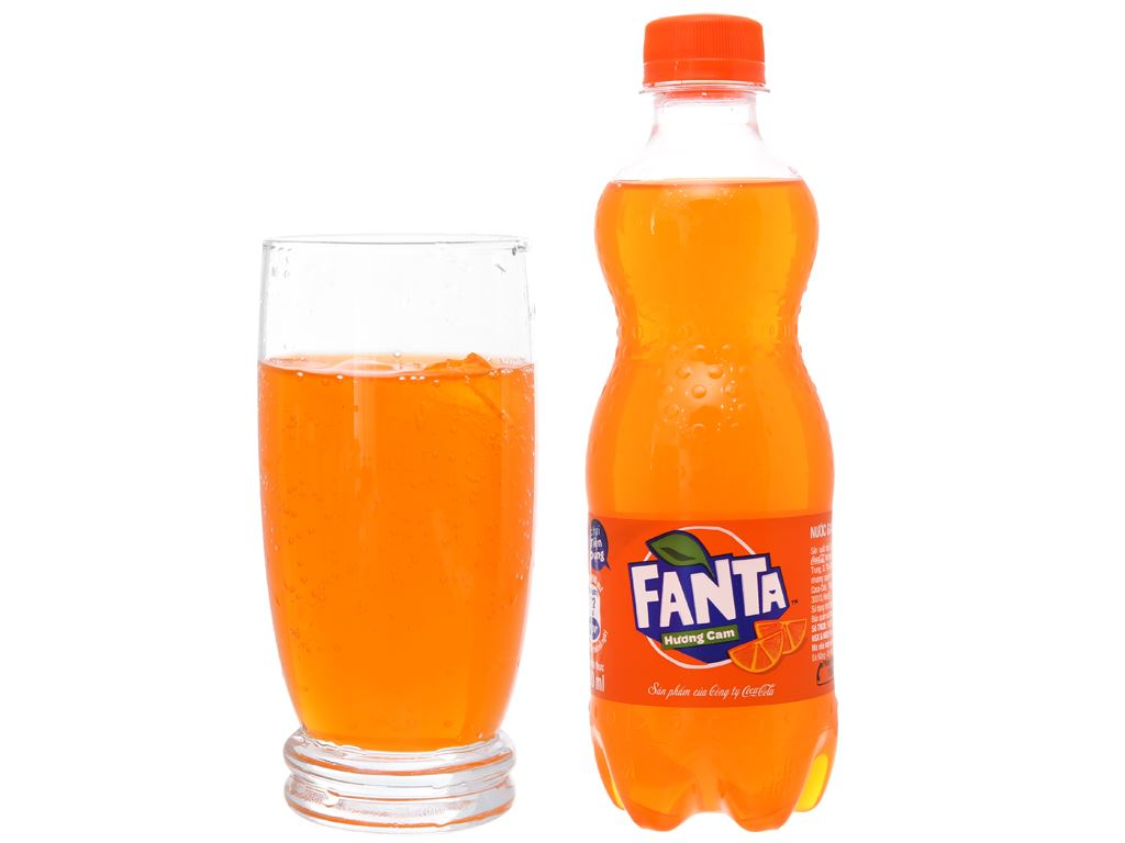 24 chai nước ngọt Fanta hương cam 390ml 3