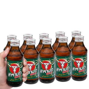 10 chai nước tăng lực Carabao 150ml