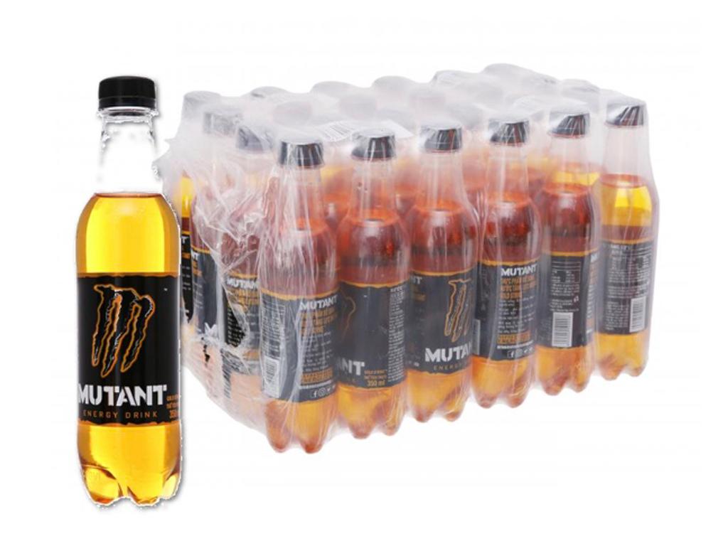 Thùng 24 chai nước tăng lực Mutant Energy Gold 350ml 1