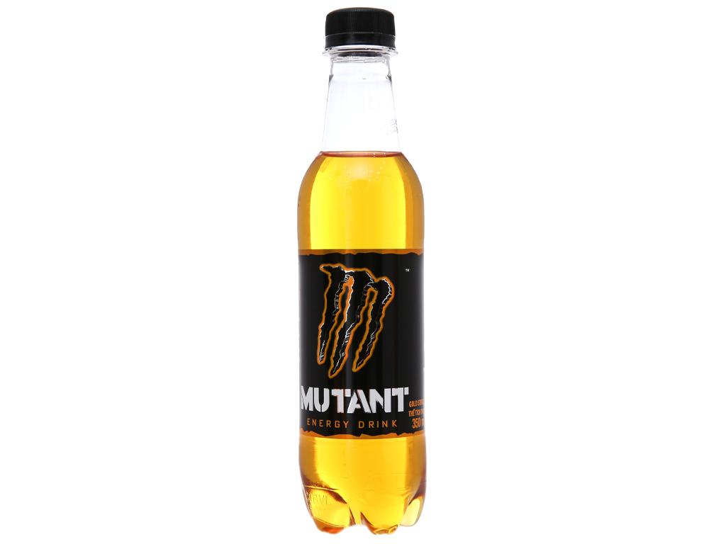 Thùng 24 chai nước tăng lực Mutant Energy Gold 350ml 2