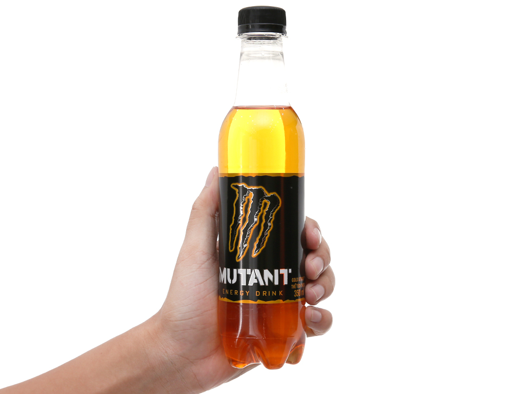 Thùng 24 chai nước tăng lực Mutant Energy Gold 350ml 4