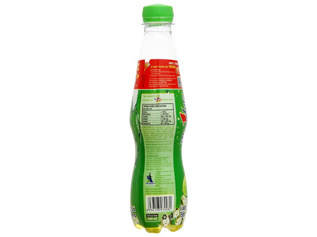 6 chai nước tăng lực Number1 vị chanh 330ml 8
