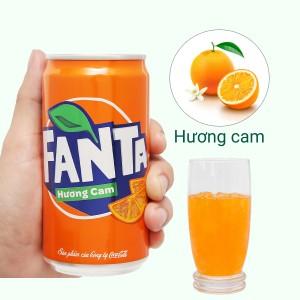 Nước ngọt Fanta hương cam 250ml
