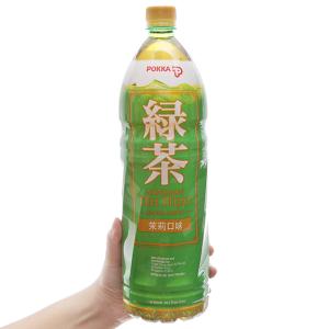 Trà xanh Pokka hương lài 1.5 lít