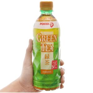 Trà xanh Pokka hương lài 500ml