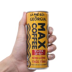 Cà phê sữa Georgia Max Coffee 235ml