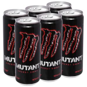 6 lon nước tăng lực Mutant Energy Red Dawn 330ml