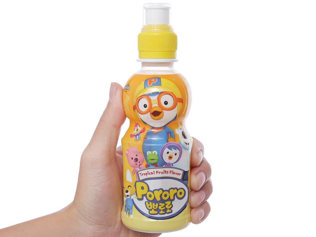 Nước trái cây Pororo vị trái cây 235ml 3