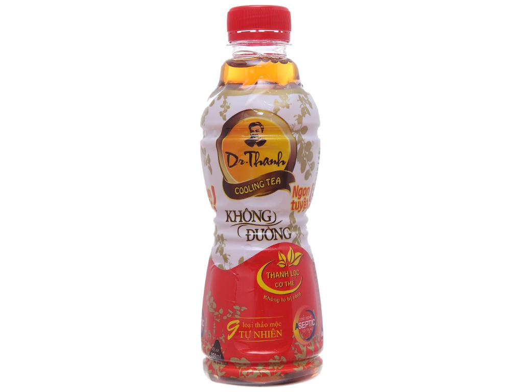 Thùng 24 chai trà thanh nhiệt Dr.Thanh không đường 330ml 2