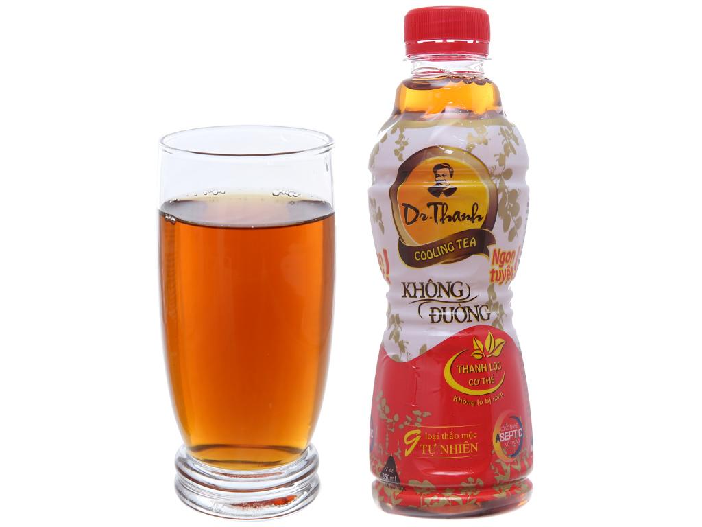 Thùng 24 chai trà thanh nhiệt Dr.Thanh không đường 330ml 4