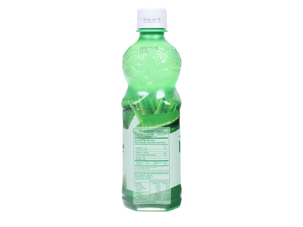 Nước nha đam Woongjin 500ml 3