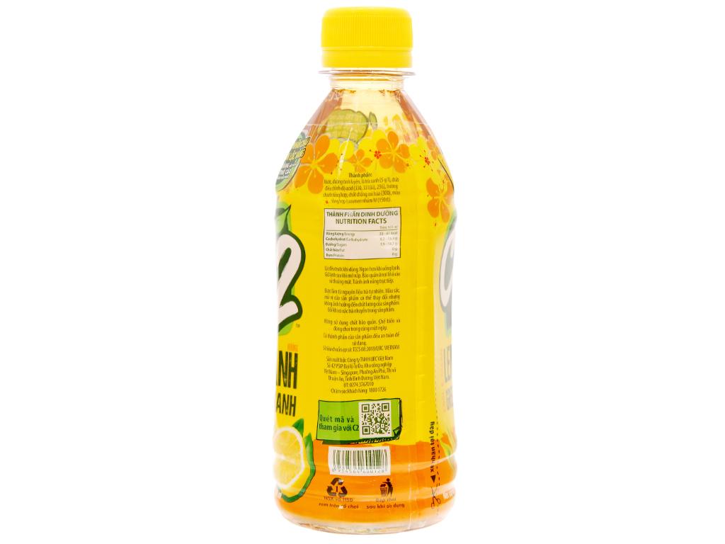 6 chai trà xanh C2 hương chanh 360ml 13