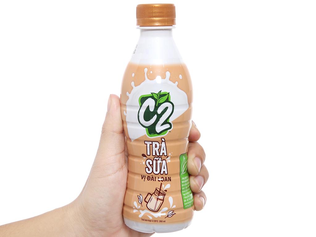 6 chai trà sữa C2 vị Đài Loan 260ml 4