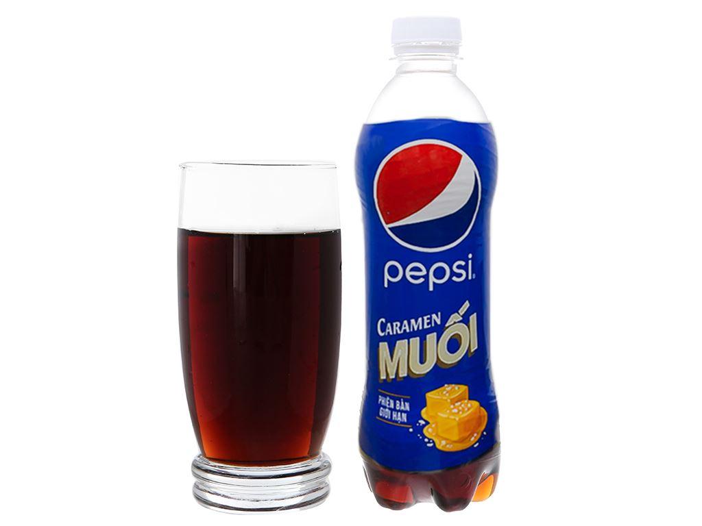 6 chai nước ngọt Pepsi Caramen muối 390ml 2