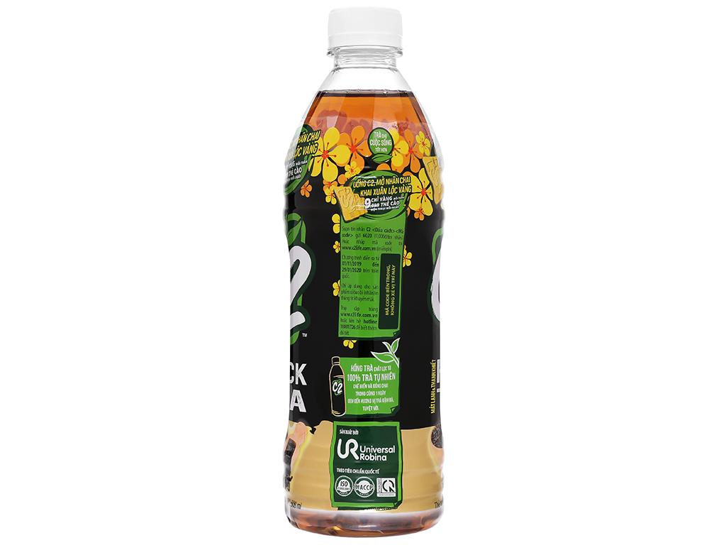 Hồng trà C2 500ml 2