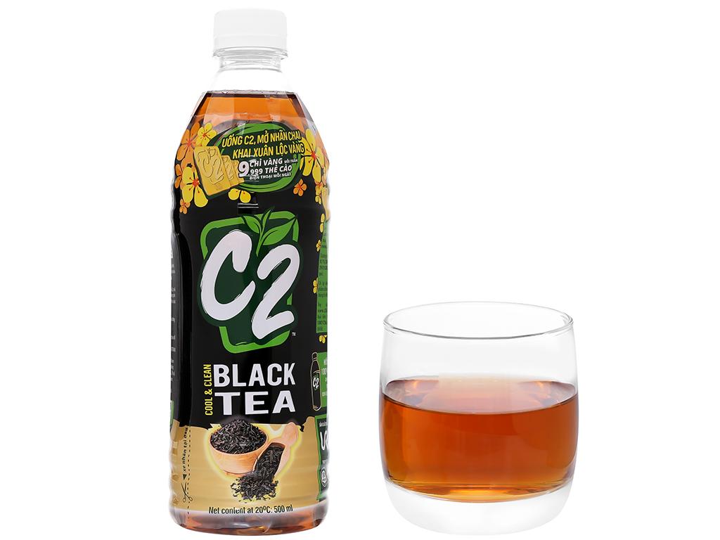 Thùng 24 chai hồng trà C2 500ml 7
