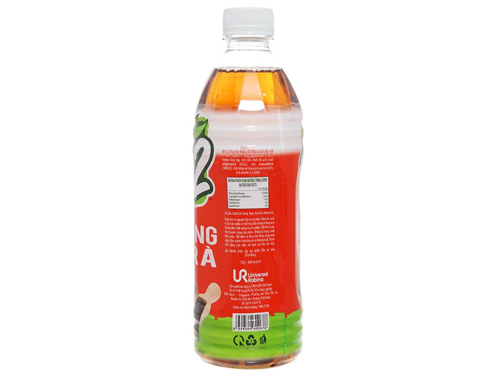 Thùng 24 chai hồng trà C2 500ml 4