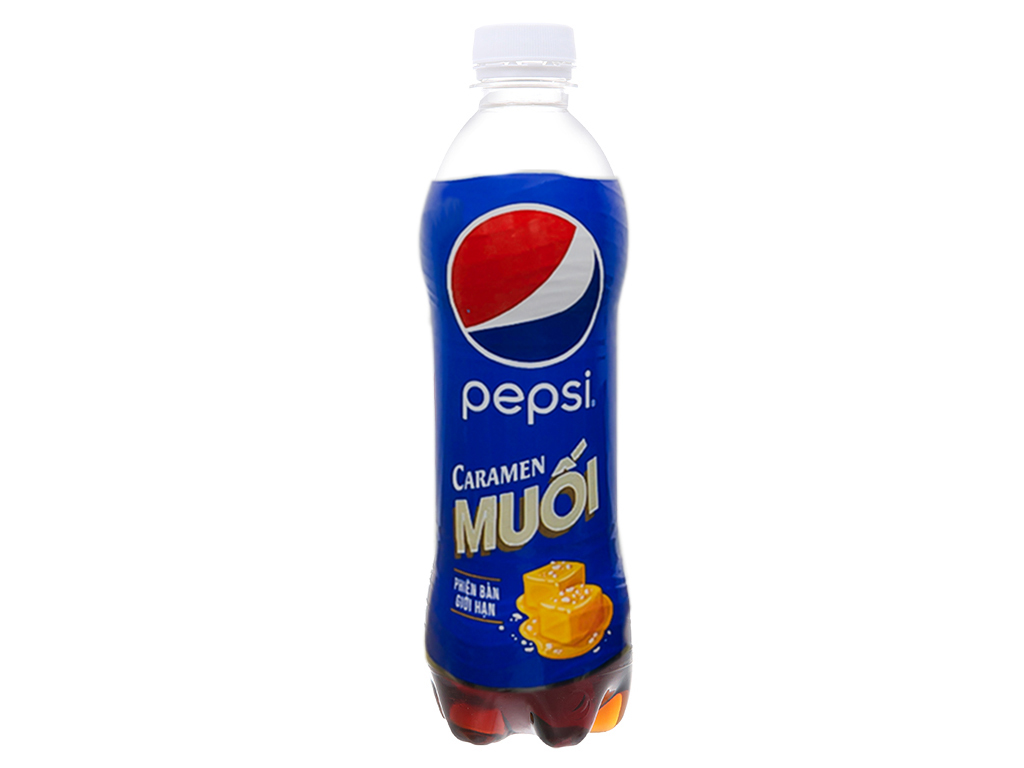 Thùng 24 chai nước ngọt Pepsi Caramen muối 390ml 2