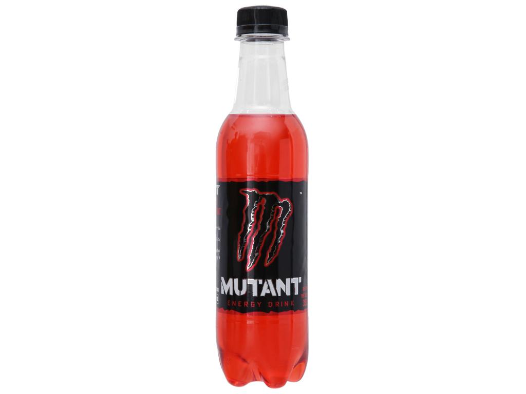 Thùng 24 chai nước tăng lực Mutant Energy Red Dawn 350ml 1