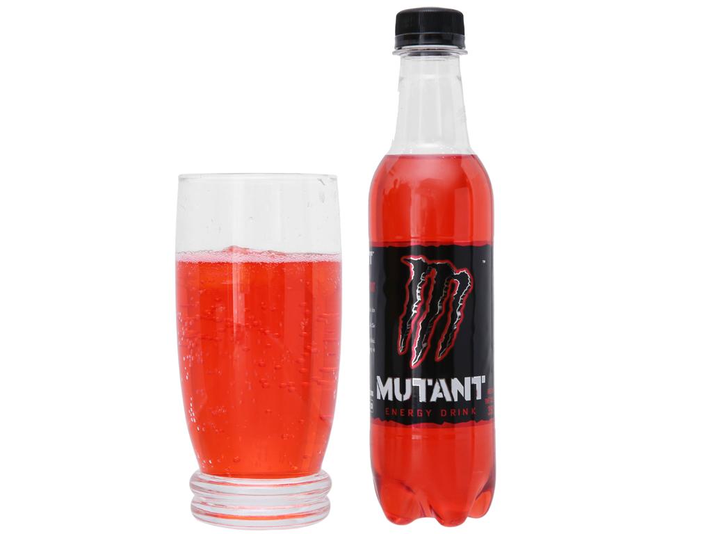 Thùng 24 chai nước tăng lực Mutant Energy Red Dawn 350ml 2