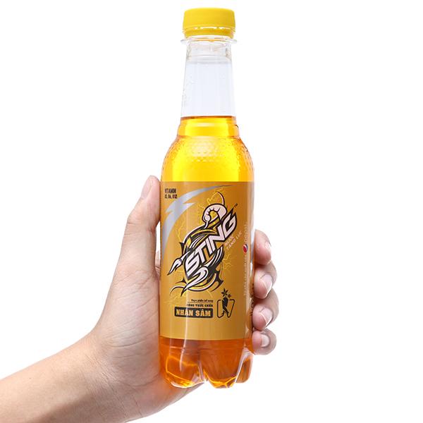 6 chai nước tăng lực Sting Vàng 330ml 4