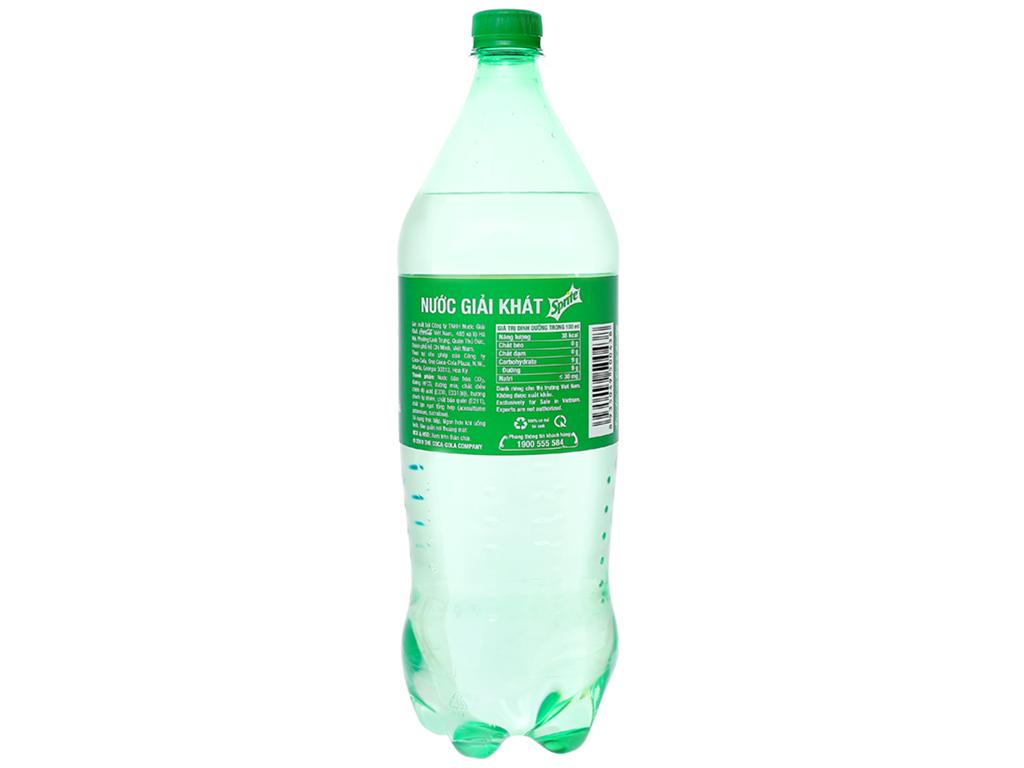 6 chai nước ngọt Sprite vị chanh 1.5 lít 4