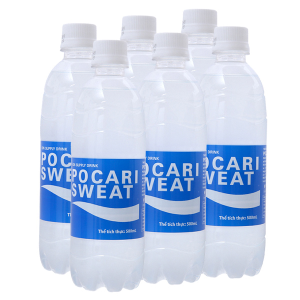 6 chai nước khoáng i-on Pocari Sweat 500ml