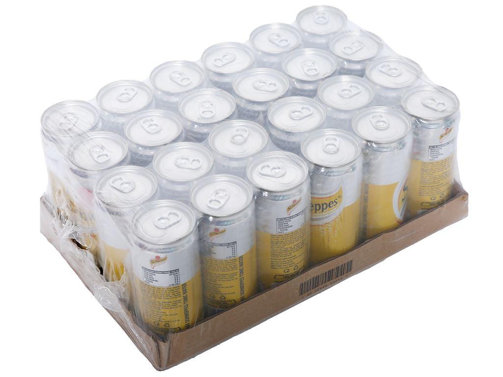 24 lon nước giải khát có gas Schweppes Tonic 330ml 1