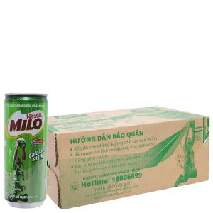 24 lon thức uống lúa mạch Milo Active Go 240ml