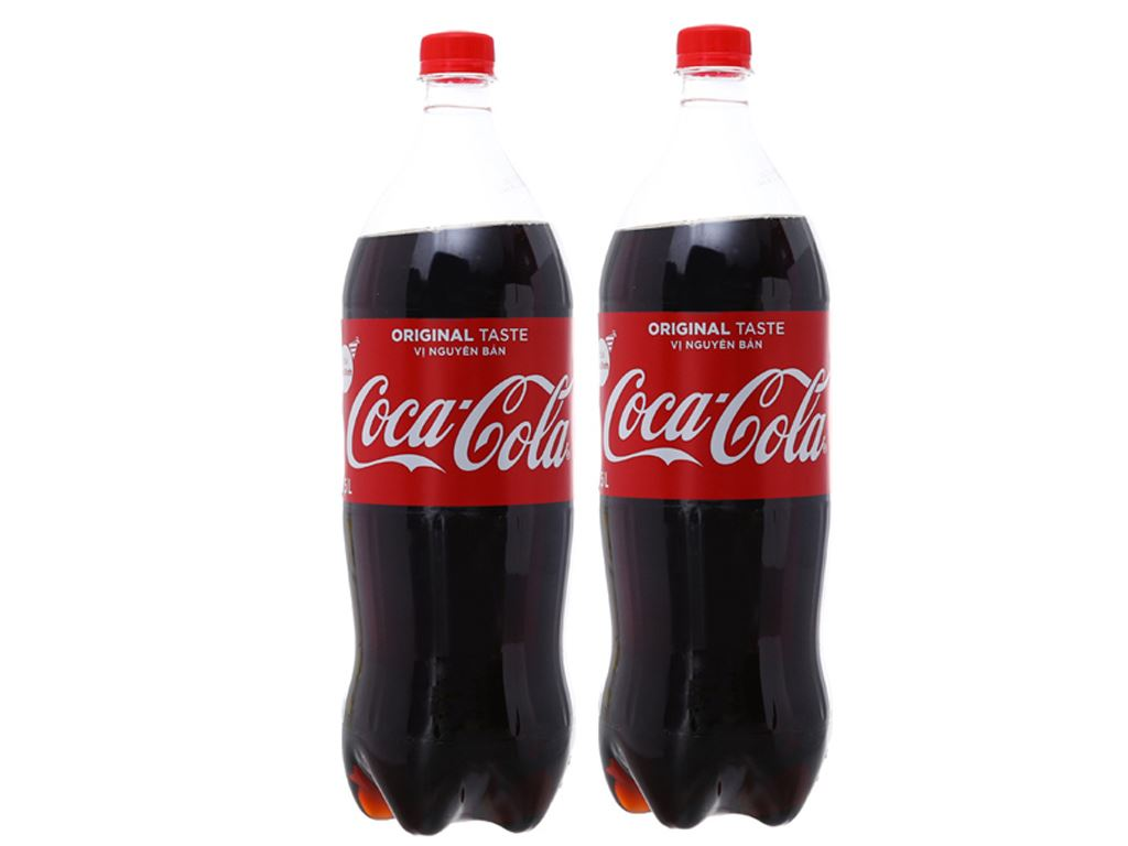 Combo 2 chai nước ngọt Coca Cola 1.5 lít 1