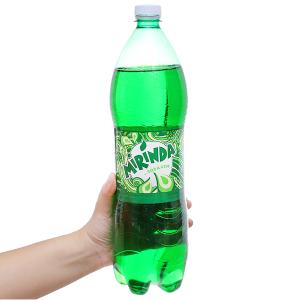 Nước ngọt Mirinda vị soda kem 1.5 lít