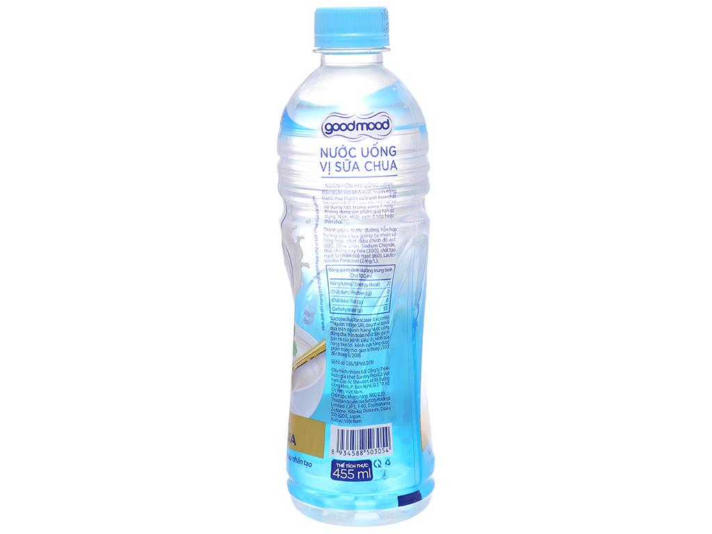 6 chai nước uống Good Mood vị sữa chua 455ml 2