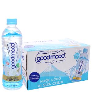 24 chai nước uống Good Mood vị sữa chua 455ml