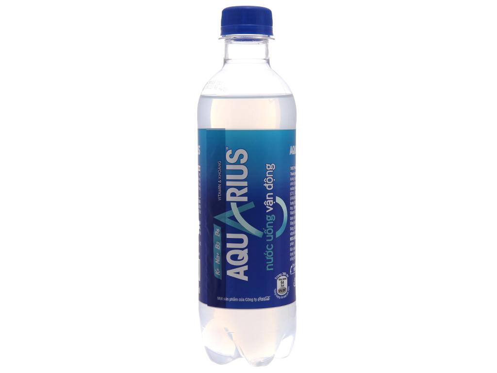 24 chai nước uống vận động Aquarius 390ml 2