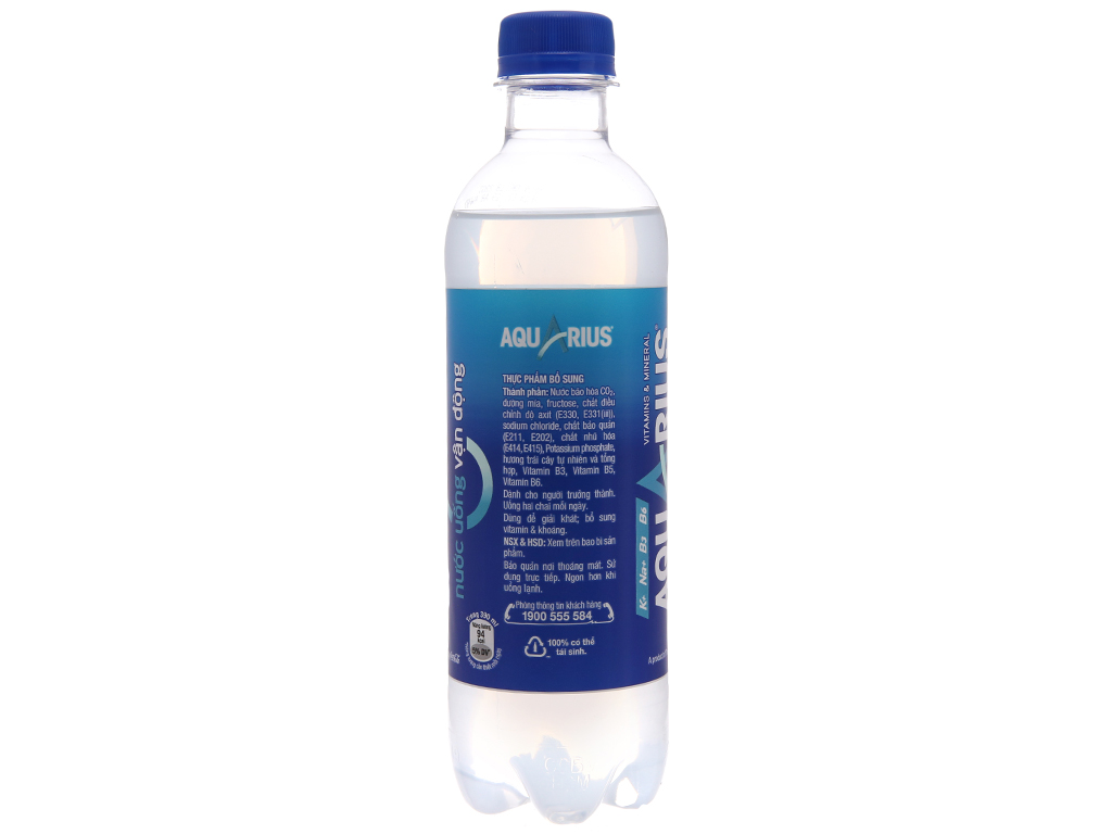 24 chai nước uống vận động Aquarius 390ml 3