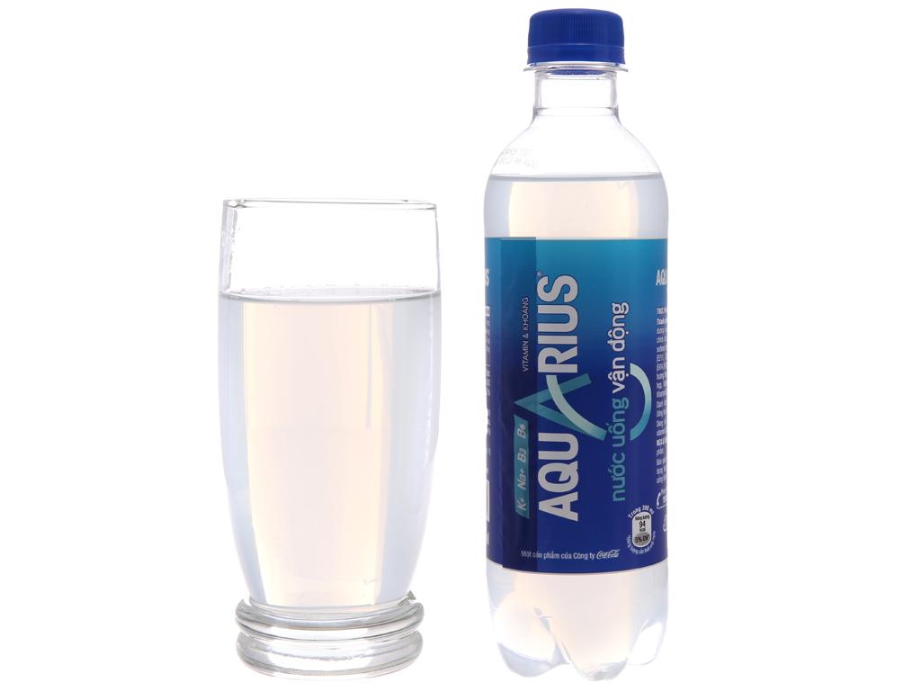 24 chai nước uống vận động Aquarius 390ml 4