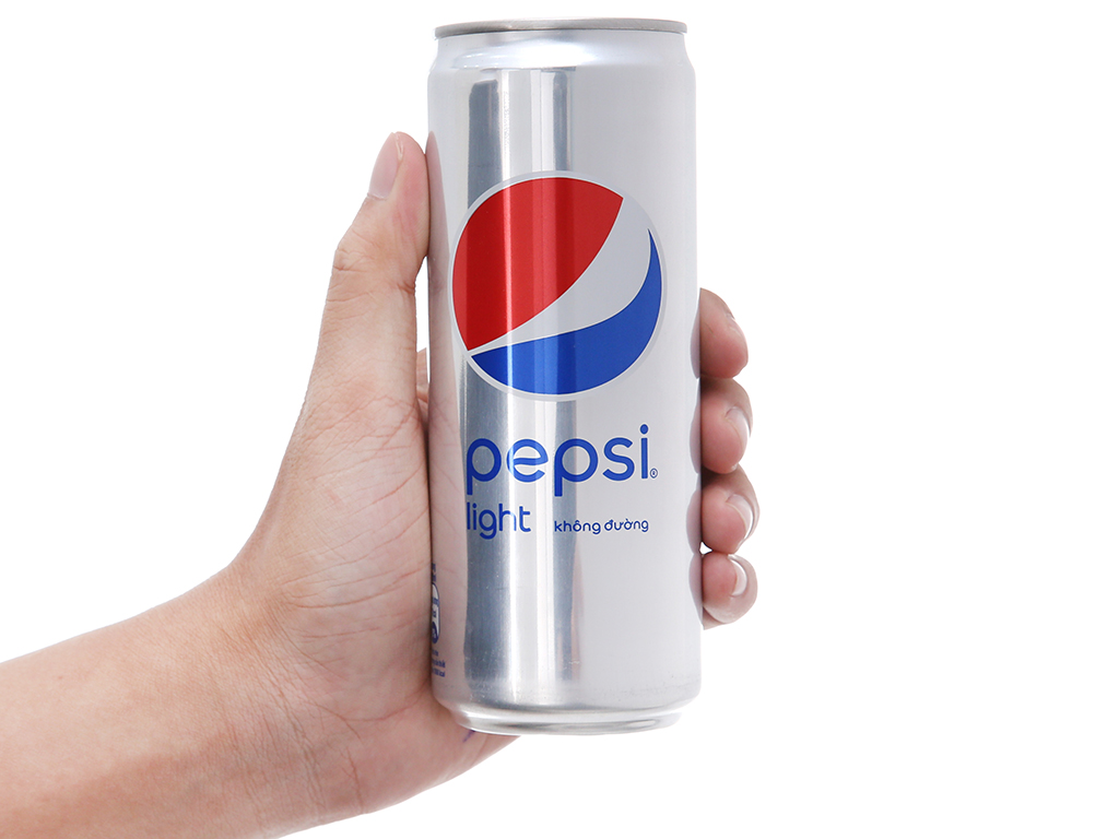 6 lon nước ngọt Pepsi Light 330ml 5